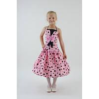 Нарядное платье розовое СК HM-2279 (7-9 лет)