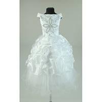 Платье нарядное белое 5-7 лет Dina6