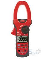Токовые клещи UNI-T UTM 1209A (UT209A), для переменного/постоянного тока, диаметр 55 мм, автоматический выбор диапазона
