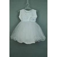 Платье нарядное белое 2-3 года Dina60
