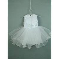 Платье нарядное белое 2-3 года Dina63