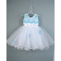 Платье нарядное белое 1,5-2 года Dina-16