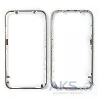 Передняя панель корпуса (рамка дисплея) Apple iPhone 3G / 3GS Silver