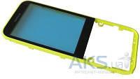 Передняя панель корпуса (рамка дисплея) Nokia 225 Dual Sim Yellow