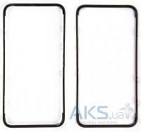Передняя панель корпуса (рамка дисплея) Apple iPhone 4 Black