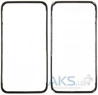 Передняя панель корпуса (рамка дисплея) Apple iPhone 4S Black