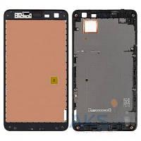 Передняя панель корпуса (рамка дисплея) Nokia 625 Lumia Black