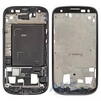 Передняя панель корпуса (рамка дисплея) Samsung i9300 Galaxy S III Grey
