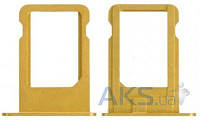 Держатель SIM-карты Apple iPhone 5 Gold
