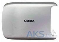 Задняя часть корпуса (крышка аккумулятора) Nokia C7-00 Original Silver