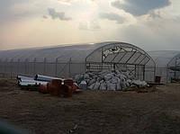 Промышленная теплица под двойную пленку 9.6х50 м.