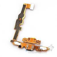 Шлейф для LG E450 / E451G / E460 Optimus L5 в комплекте разъем зарядки и микрофон Original