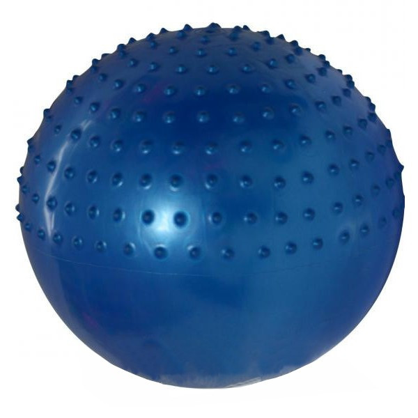Мяч для фитнеса полумассажный 2в1 (75 см) FI-4437-75. Распродажа!