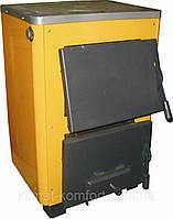 Твердотопливный котел ОГОНЕК КОТВ-14П с варочной поверхностью (плитой)