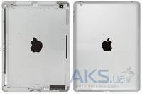 Задняя часть корпуса (крышка) для планшета Apple iPad 3 WiFi Silver