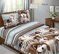 Ткань для постельного белья, бязь хлопок Хаски, фото 1