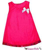 Платье сетка с  шариками малиновое