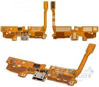 Шлейф для LG D405 Optimus L90, D410 Optimus L90 Dual SIM, D415 Optimus L90, коннектора зарядки, микрофона, с компонентами Original