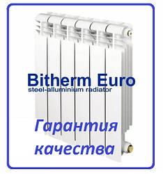 Биметаллический радиатор отопления Bitherm Euro 500 х80