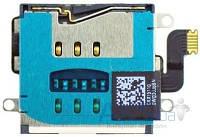 Aksline Коннектор SIM-карты для Apple iPad 3 Original