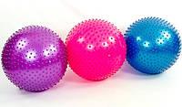 Мяч для фитнеса с шипами FI-1987-65 (d=65 см). Распродажа!, фото 1