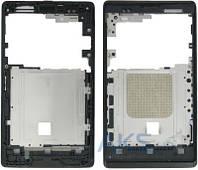 Передняя панель корпуса (рамка дисплея) Sony C1505 Xperia E / C1605 Xperia E Dual Black