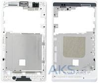 Передняя панель корпуса (рамка дисплея) Sony C1505 Xperia E / C1605 Xperia E Dual White