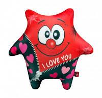 Антистресс Звезда красная мягкая игрушка Danko toys