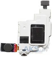 Динамик Samsung i8260 / i8262 Galaxy Core Полифонический (Buzzer) + Слуховой (Speaker), в рамке, с разъемом гарнитуры  Original White