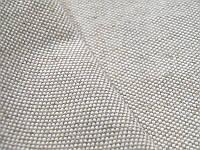 Льняная мебельная ткань светло-серого цвета (шир. 157 см)