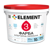 Фасадная латексная краска ELEMENT 3