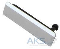 Заглушка разъема USB Sony C6902 L39h Xperia Z1 / C6903 Xperia Z1 White