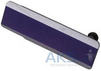 Заглушка разъема USB Sony C6902 L39h Xperia Z1 / C6903 Xperia Z1 Purple