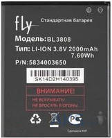 Аккумулятор Fly IQ456 Era Life 2 / BL3808 (2000 mAh) 12 мес. гарантии