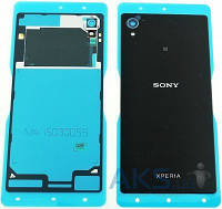 Задняя часть корпуса (крышка аккумулятора) Sony E2303 Xperia M4 Aqua / E2333 Xperia M4 Aqua Dual Original Black