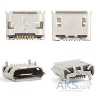 (Коннектор) Aksline Разъем зарядки Samsung S8500 Wave / 8530 Wave 2 / B7300 Omnia LITE / S7500 Galaxy Ace Plus / C6712 / S8530 / S7330 / S7320 / I5700