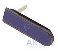 Заглушка разъема гарнитуры Sony C6602 L36h Xperia Z / C6603 L36i Xperia Z / C6606 L36a Xperia Z Purple
