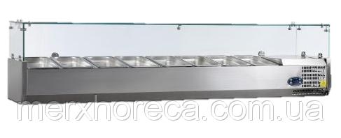 Витрина холодильная настольная Tefcold VK38-180* (царапины, вмятины по корпусу)