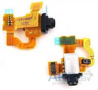 Шлейф для Sony D5803 Xperia Z3 Compact / D5833 Xperia Z3 с разъемом гарнитуры и датчиком приближения Original