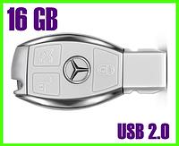 Флешка 16 ГБ BMW с интерфейсом USB 2.0 (белая)