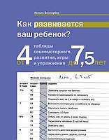 Как развивается ваш ребенок? Таблицы сенсомоторного развития, игры и упражнения: От 4 до 7,5 лет.