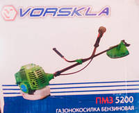 БЕНЗОКОСА VORSKLA ПМЗ-5200 3 НОЖА +2 ШПУЛИ