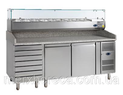 Стол холодильный для пиццы TEFCOLD-PT1310