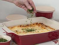 Блюдо для выпечки прямоугольное BergHOFF Geminis 4 л керамика, фото 1