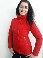 Молодежная короткая куртка женская
