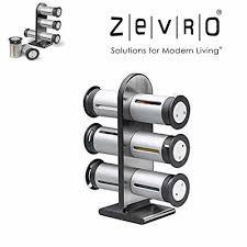 Набор контейнеров для специй Magnetic Spice Stand, Zevgo 6 шт