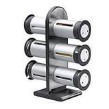 Набор контейнеров для специй Magnetic Spice Stand, Zevgo 6 шт, фото 5