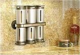 Набор контейнеров для специй Magnetic Spice Stand, Zevgo 6 шт, фото 6
