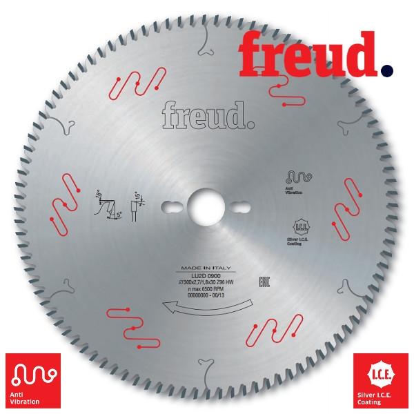 Пила дисковая для поперечного пиления древесных материалов - тонкий пропил. D = 300 мм  (Freud, Италия)