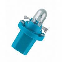 Автомобильная лампочка Zollex 12V 0.4W BX8.5d BAX blue-lily 22006 (10 шт)